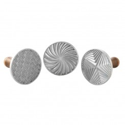 Set de 3 sellos para galletitas Geo Cast Nordic Ware®