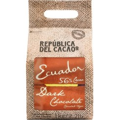Chocolate Cobertura Ecuador Dark 56 %