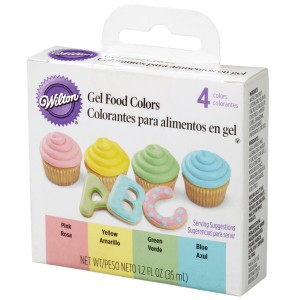 Colorantes en gel kit de colores pastel Wilton®
