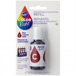 Repuesto de Color Right System™ Bordo basico Wilton® 19 ml
