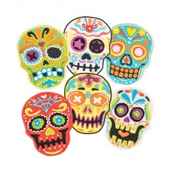 Cortantes de galletitas Skull
