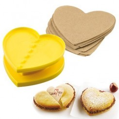 Cortante de galletita con stamp For You con 80 hojitas SilikoMart®