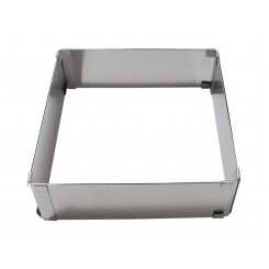 Cintura Cuadrada - Rectangular extensible Cake Ring