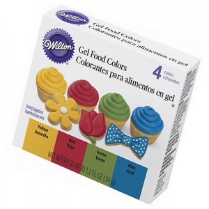 Colorantes en gel Kit Primarios Wilton®