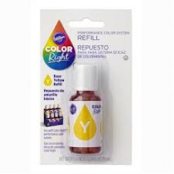 Repuesto de Color Right System™ Amarillo basico Wilton® 19 ml