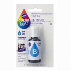Repuesto de Color Right System™ Azul basico Wilton® 19 ml
