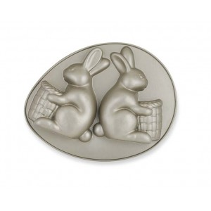 Molde Bunnie with baskets Nordic Ware®