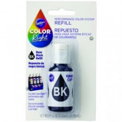 Repuesto de Color Right System™ Negro basico Wilton® 19 ml