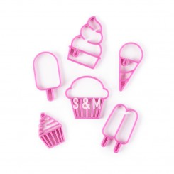Estampadores marcadores Ice Cream Shop
