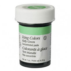 Colorante en gel verde kelly (Kelly green) Wilton®