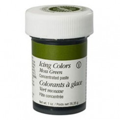 Colorante en gel verde musgo (Moss Green) Wilton®