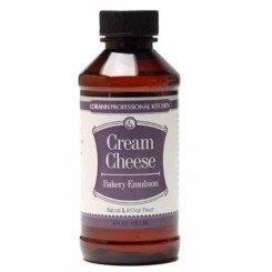Emulsión de crema de queso (Cream Cheese) LorAnn® 118 ml ( SALE )