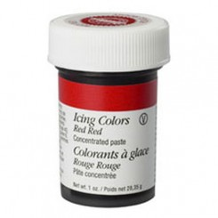 Colorante en gel rojo intenso Icing Color™ Wilton®