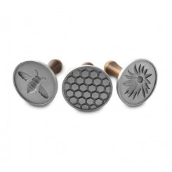 Set de 3 sellos para galletitas Honey Bees Nordic Ware®