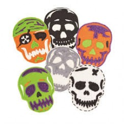 Cortantes de galletitas Skull 2